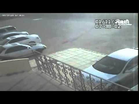 انفجار ناقلة الغاز في الرياض